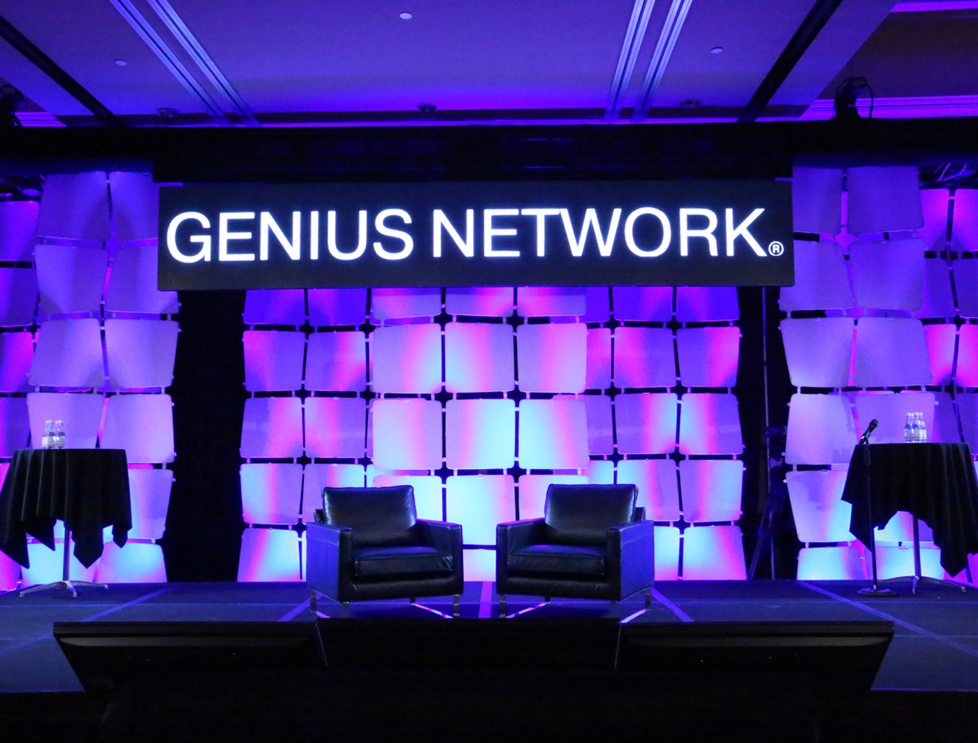 WAFER Panels look brilliant at the genius network (Photo from Austin Yarnton)