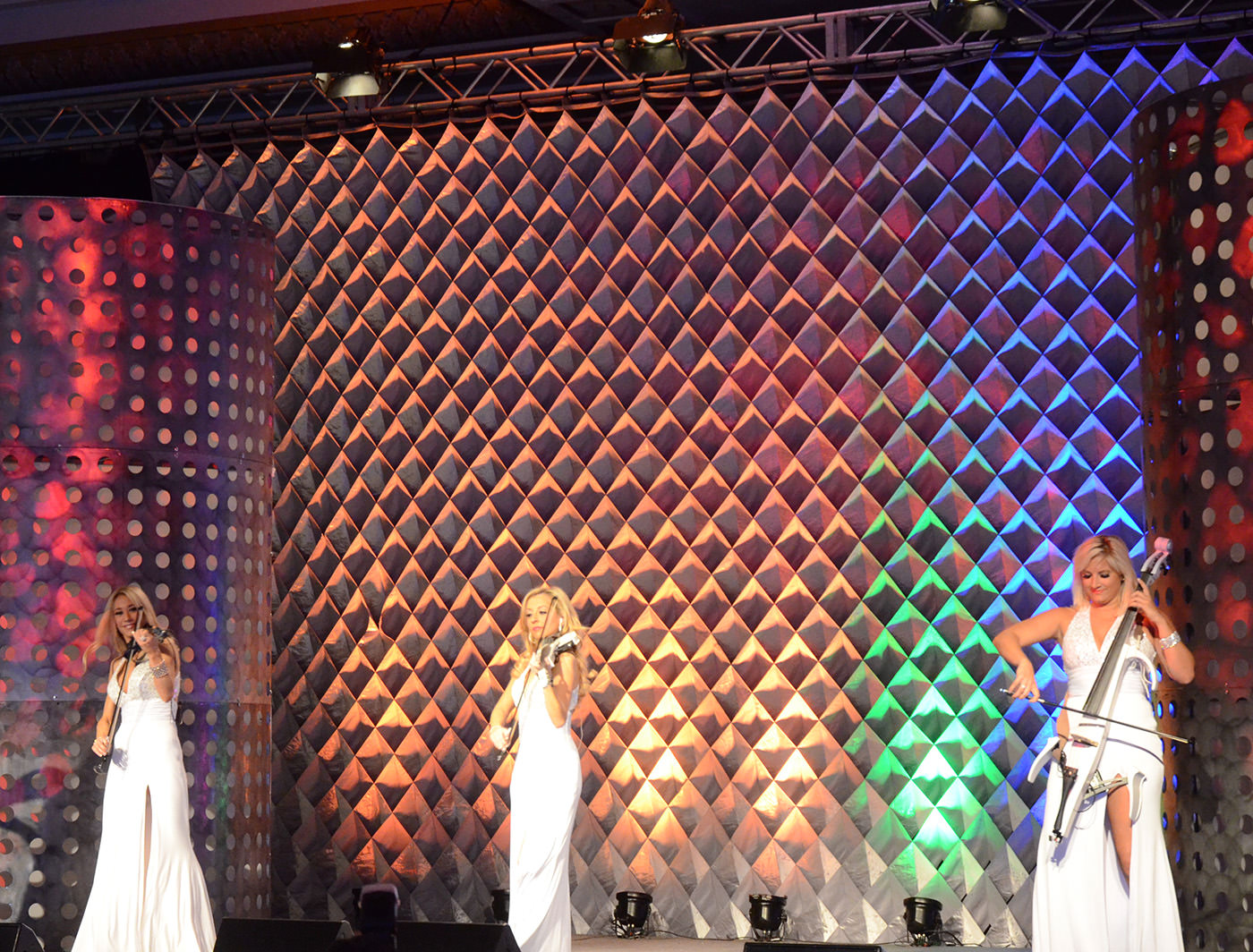CELL CLOTH AT THE 2014 AWARD SHOW AT CATERSOURCE AND EVENT SOLUTIONS CONFERENCE & TRADESHOW