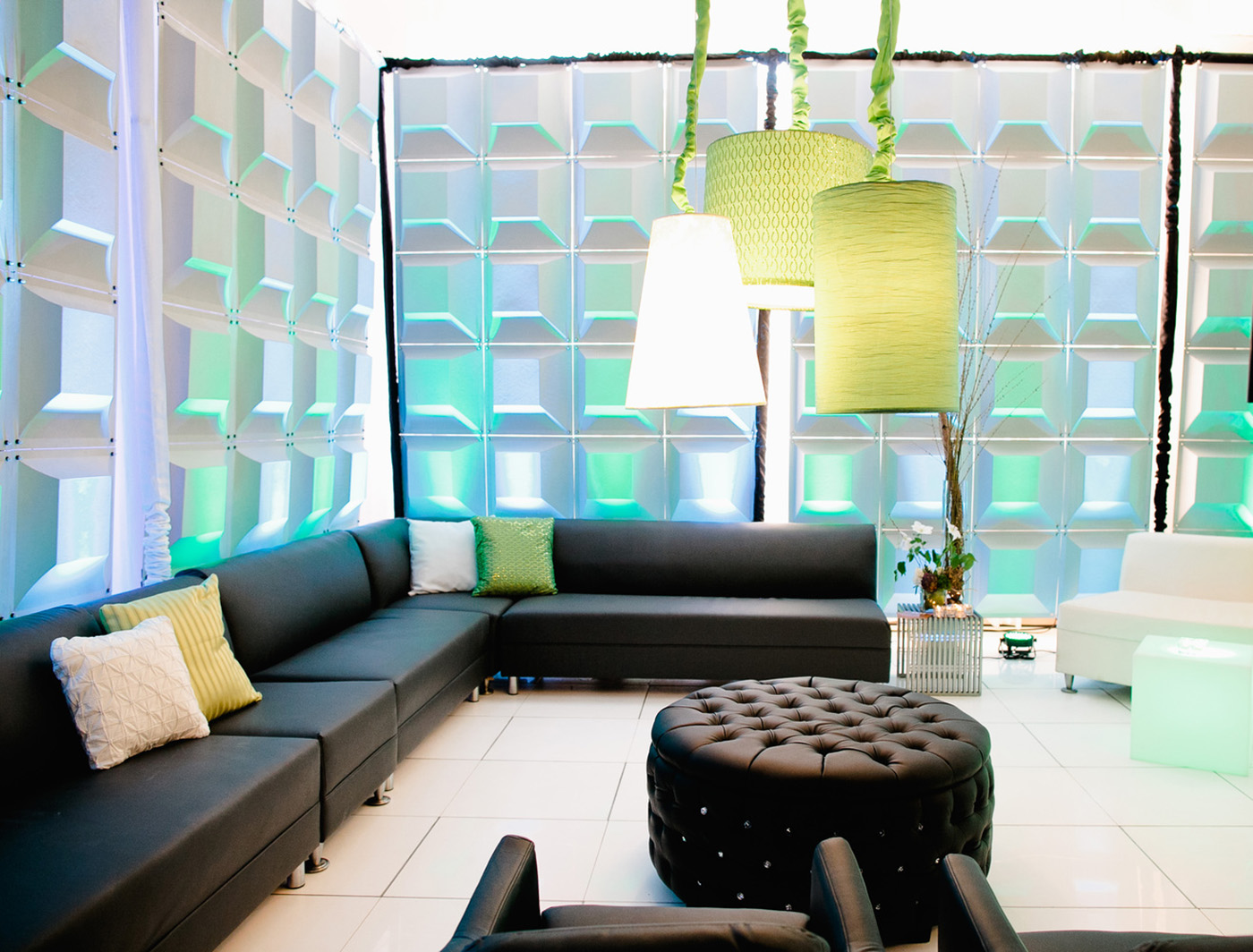 Chiclet creates a great lounge vibe