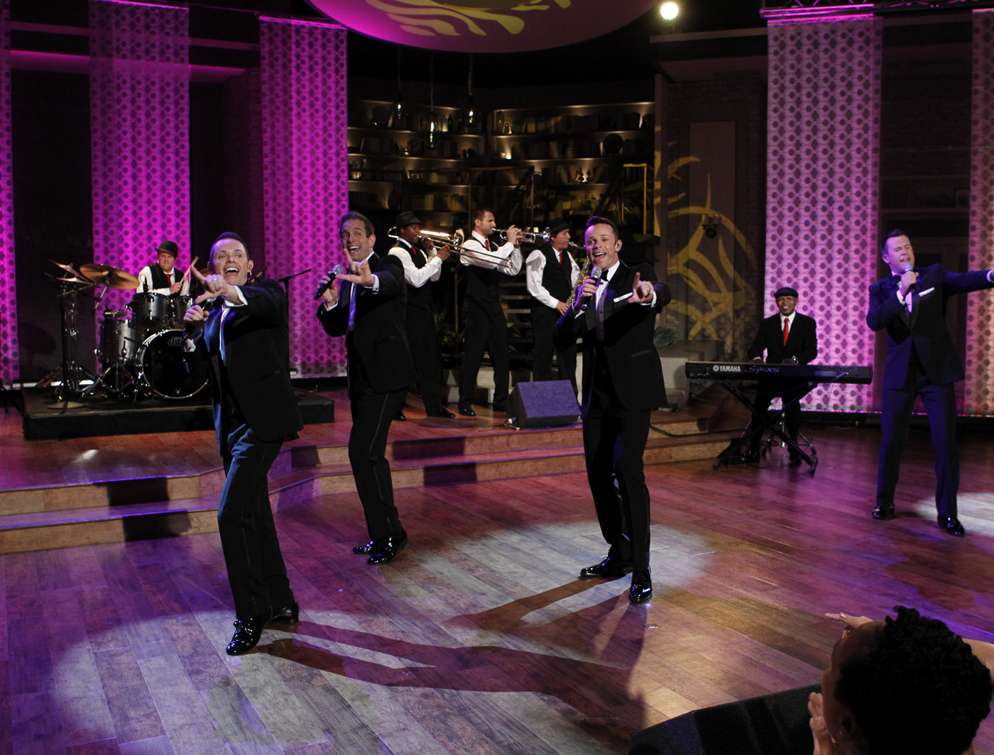 Australian pop group Human Nature performs on The Talk