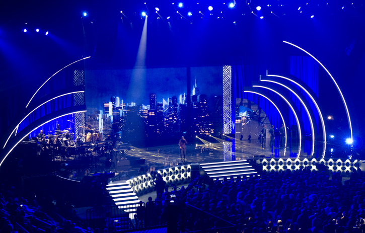 Concert Stage Design Ideas stained beauty 2013 Soul Train Awards