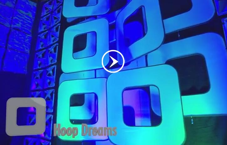 Hoop dreams rental backdrops amp rental decor from atomic design