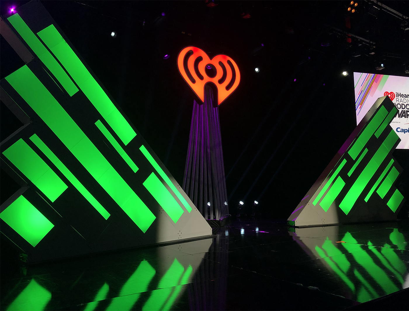 Frosty SuperShapes at the iHeartRadio Podcast Awards