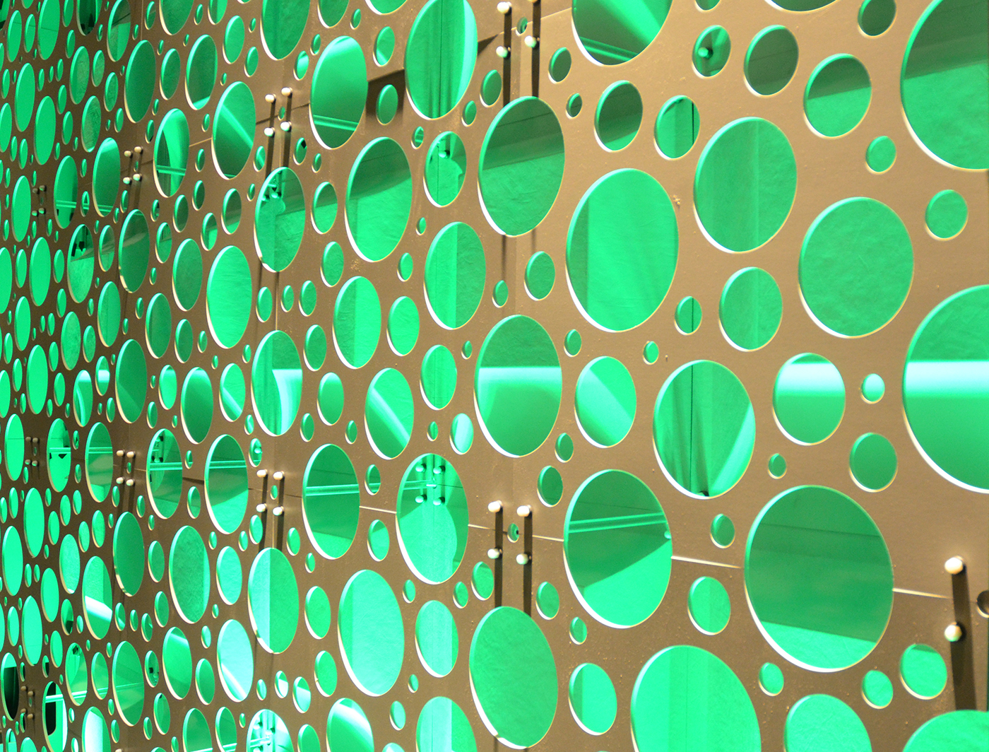 FIZZ AND CHICLET PANELS FORM A SUPERWALL