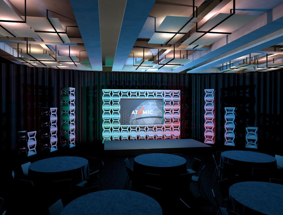 Hive Supercolumn Rental Backdrops Amp Rental Decor From