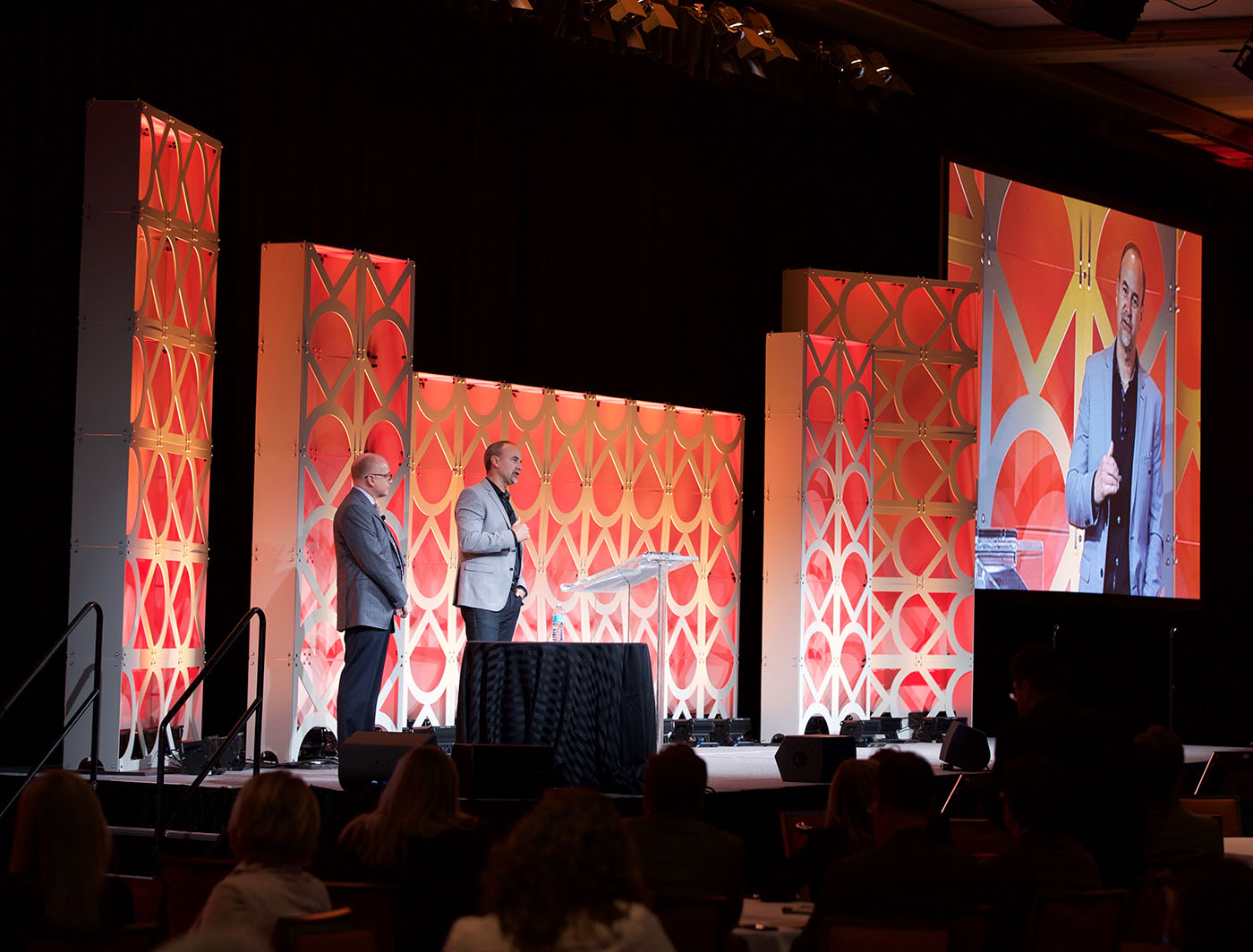 OM SuperWall at IEG Conference