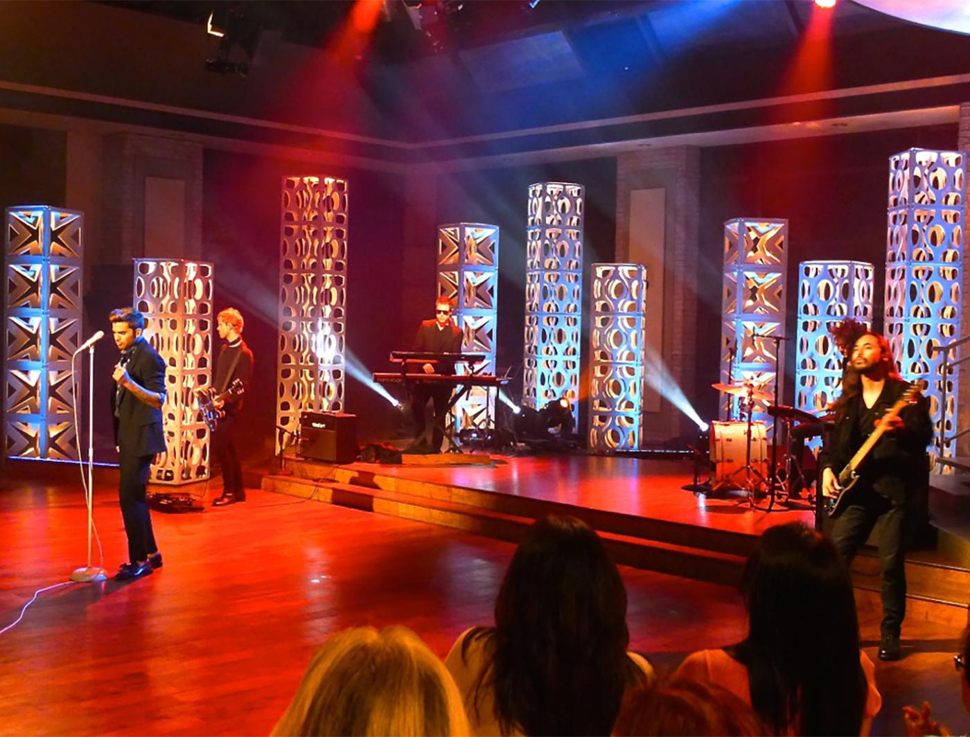 Adam Lambert on The Talk with Edjo SuperColumns