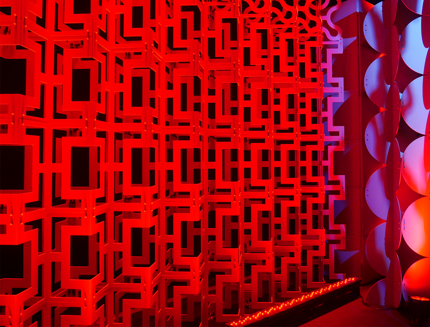 Arcade FASTwall panels add pizzazz to this space