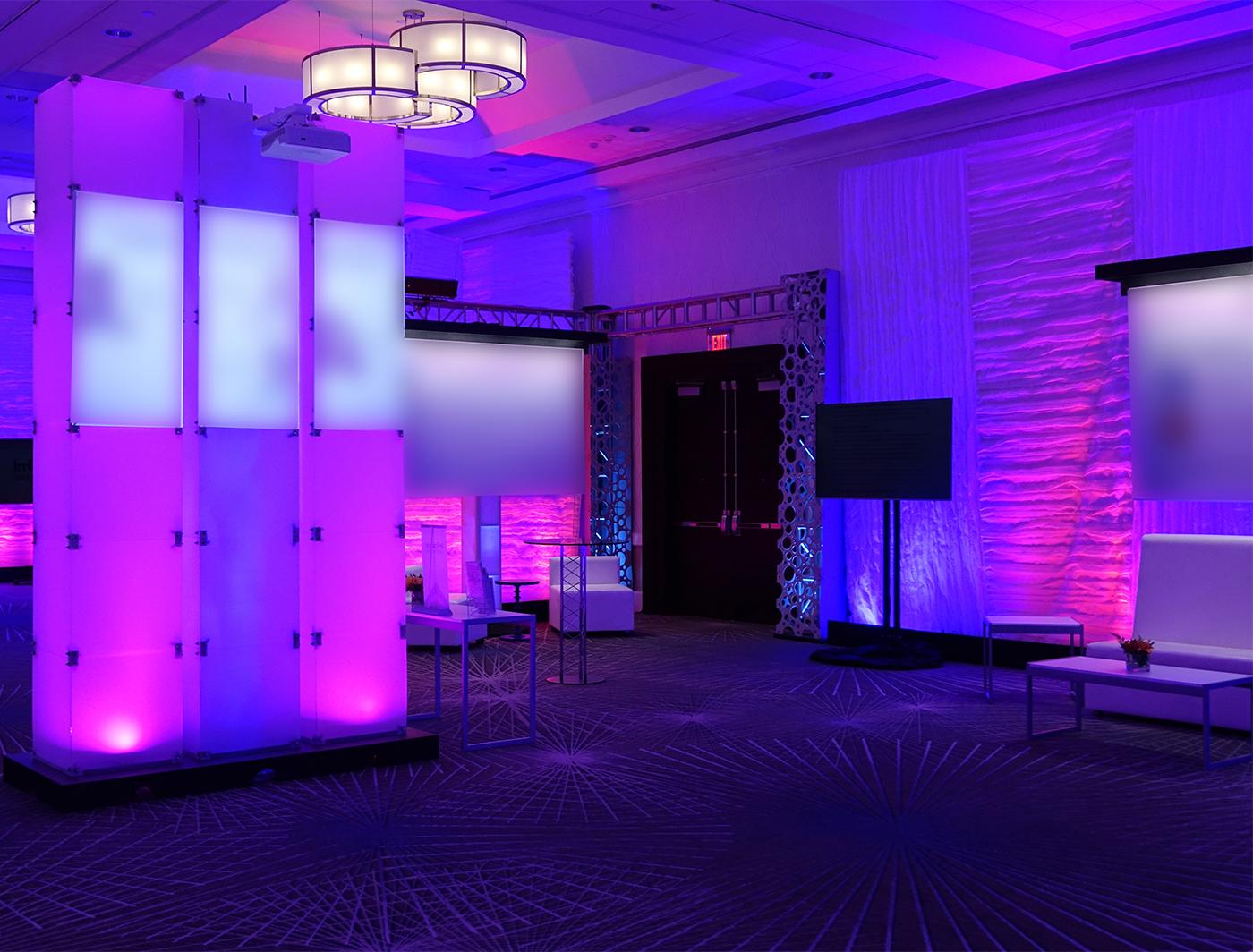 Rise SuperZipper panels create a fun lounge space