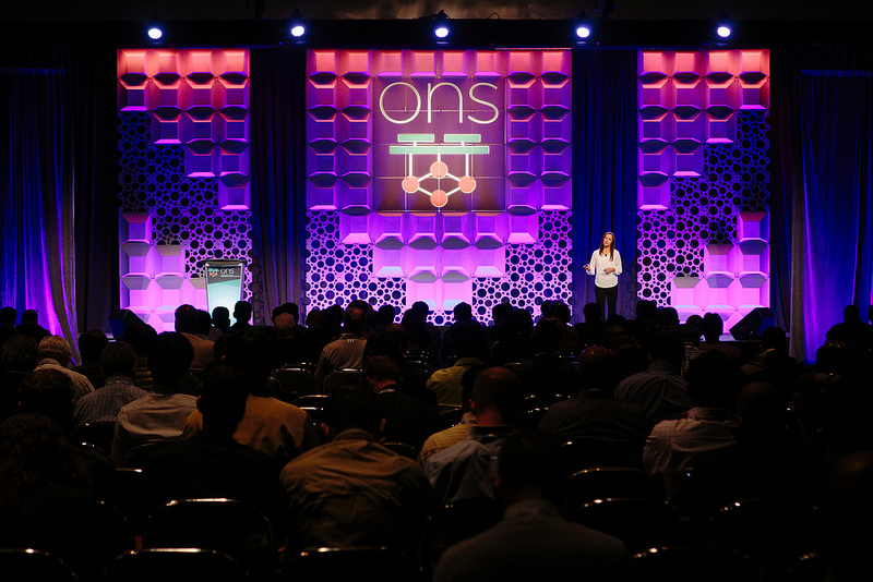 Custom Panel GLO took center stage at the 2017 Open Networking Summit