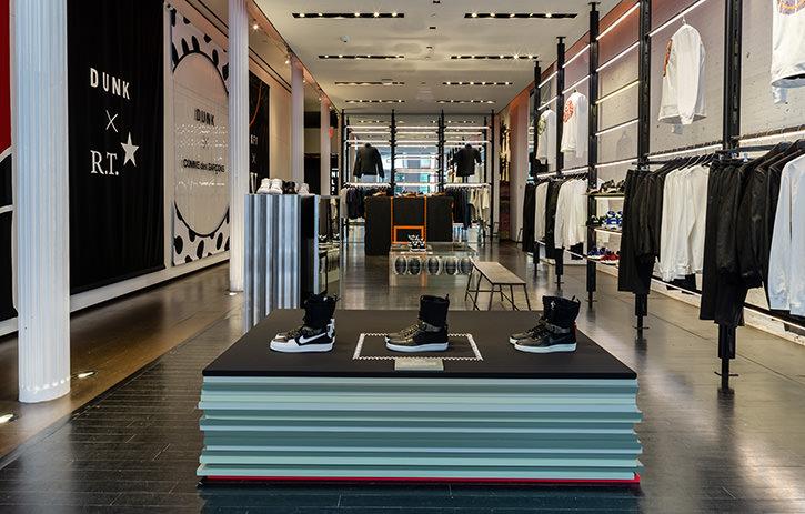NikeLab 21M Retail Installation - ATOMIC