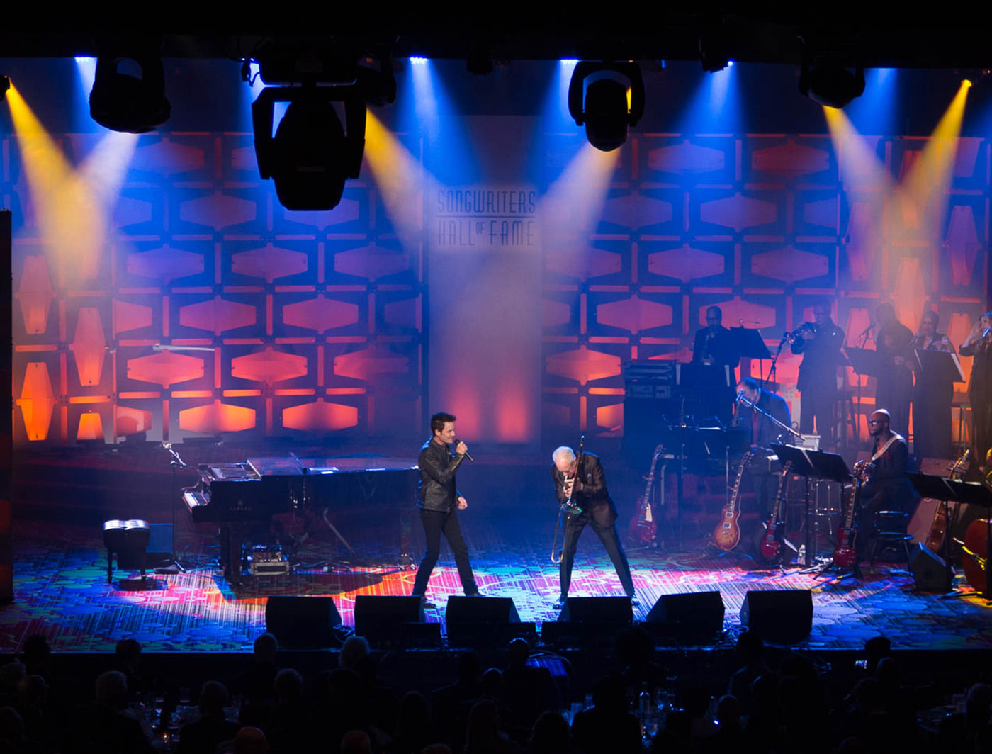 Un-roll at Songwriters Hall of Fame (Photo Credit: Brendan Gray)