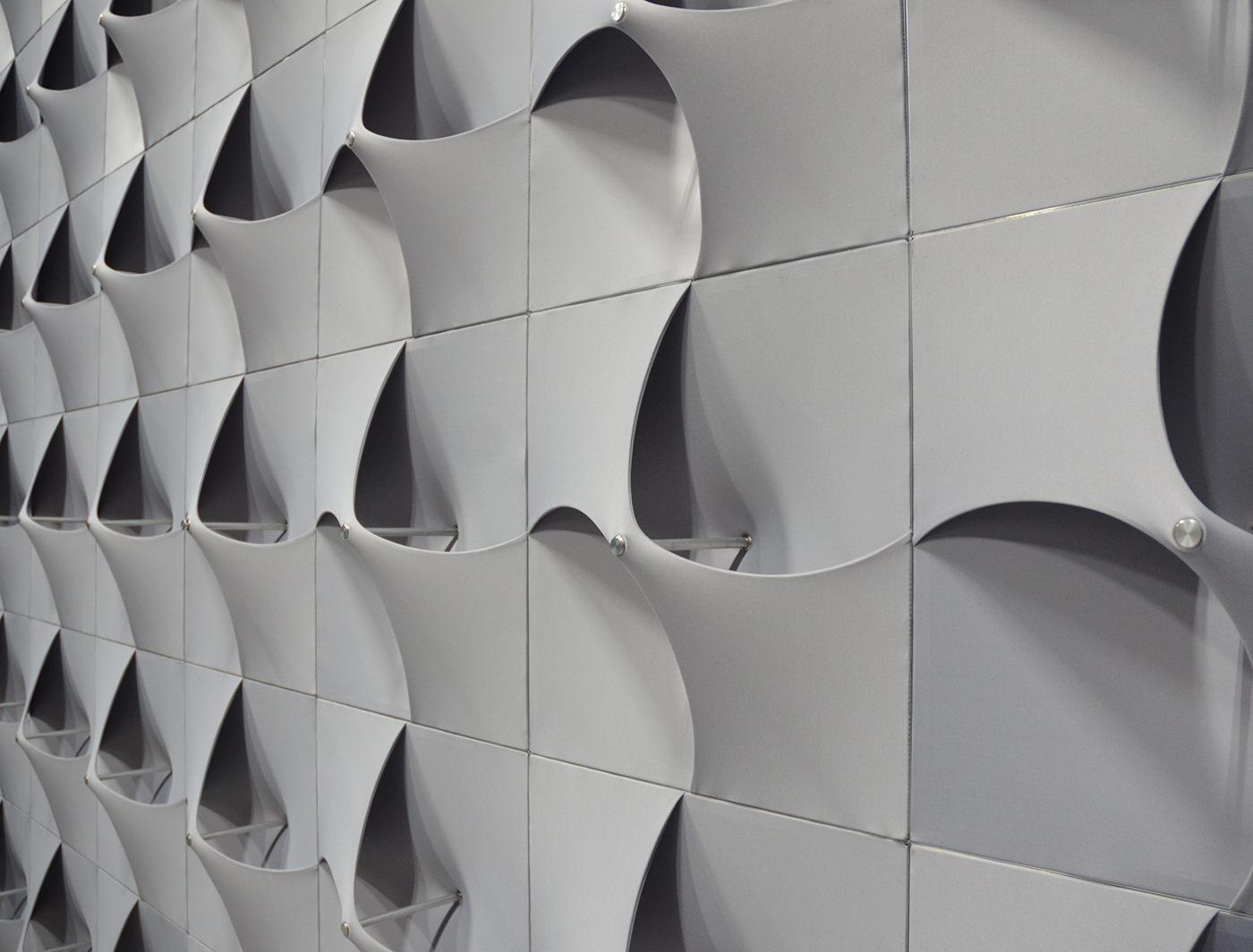 Turbine Panels in Natural Light