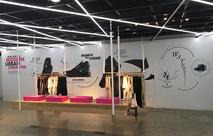 The NikeLab CHI store decked out for the new Nike ACG launch 3f9d4a62cd38