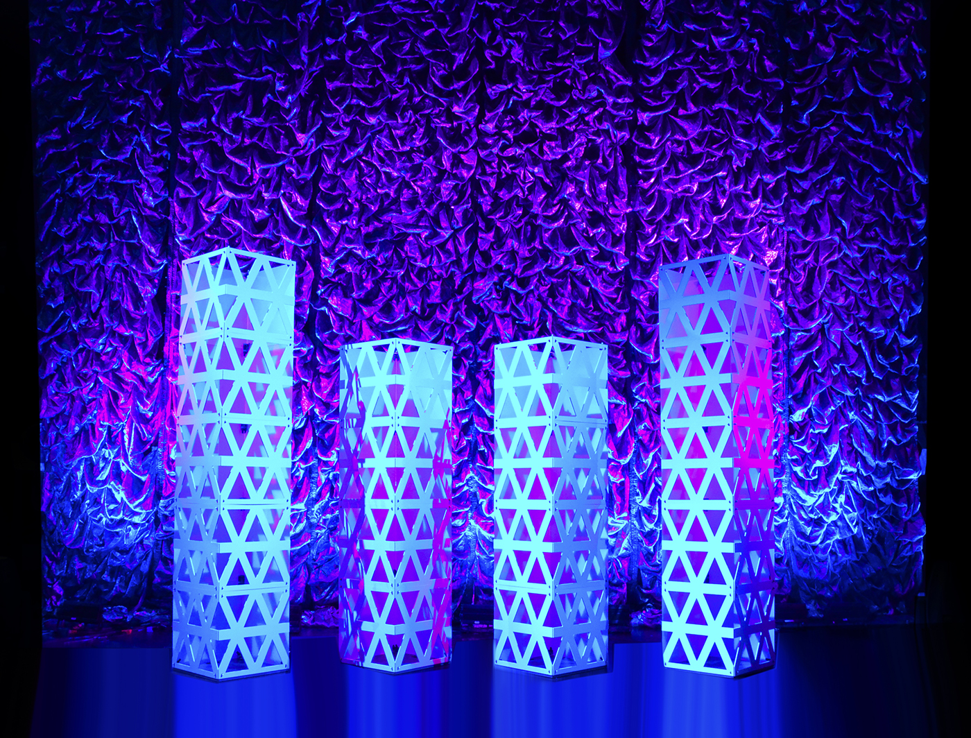 Triad SuperColumns add style and depth to this stage