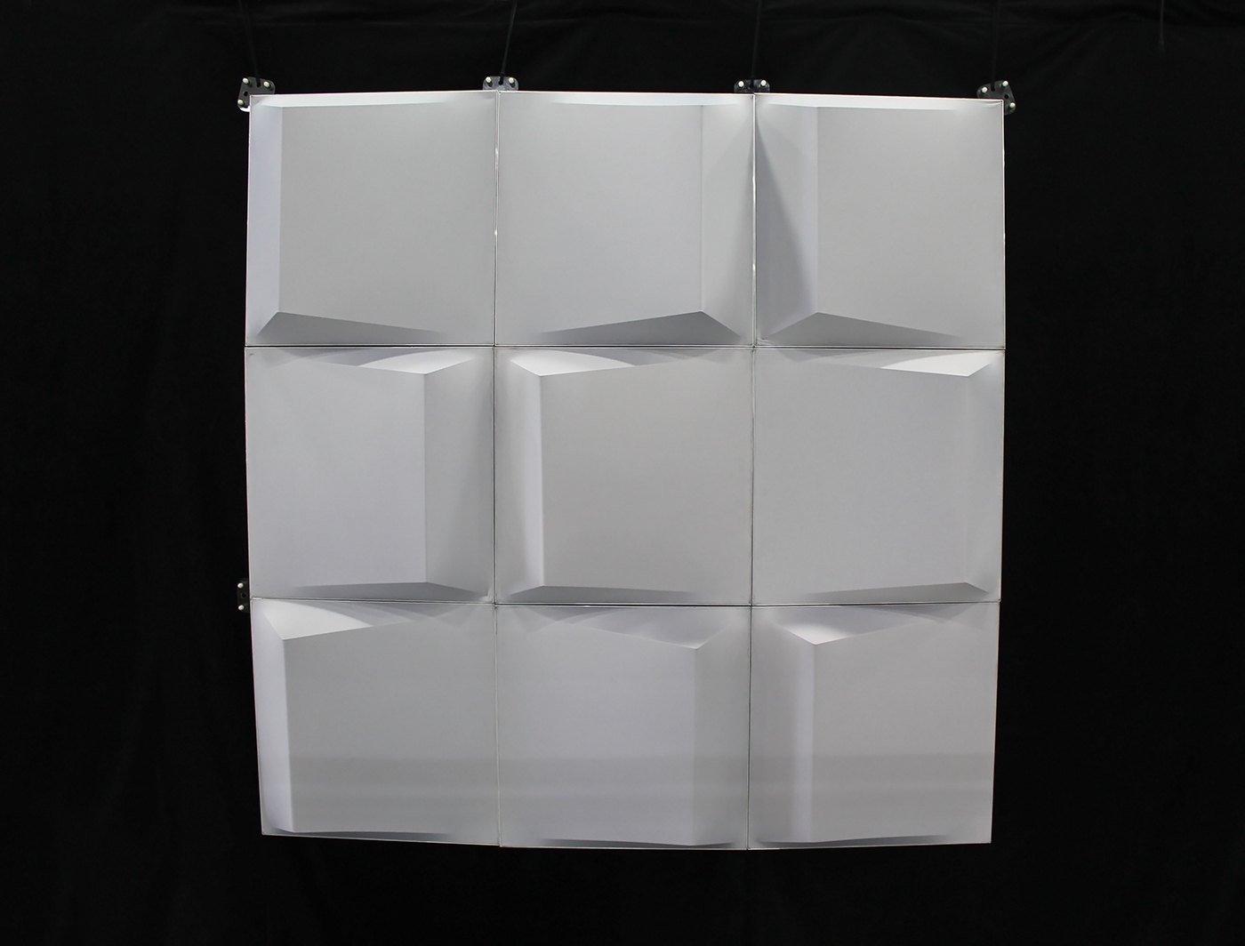 Wedge panels in natural light