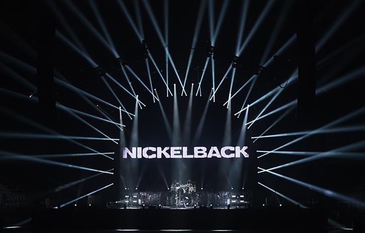 nickelback feed the machine tour