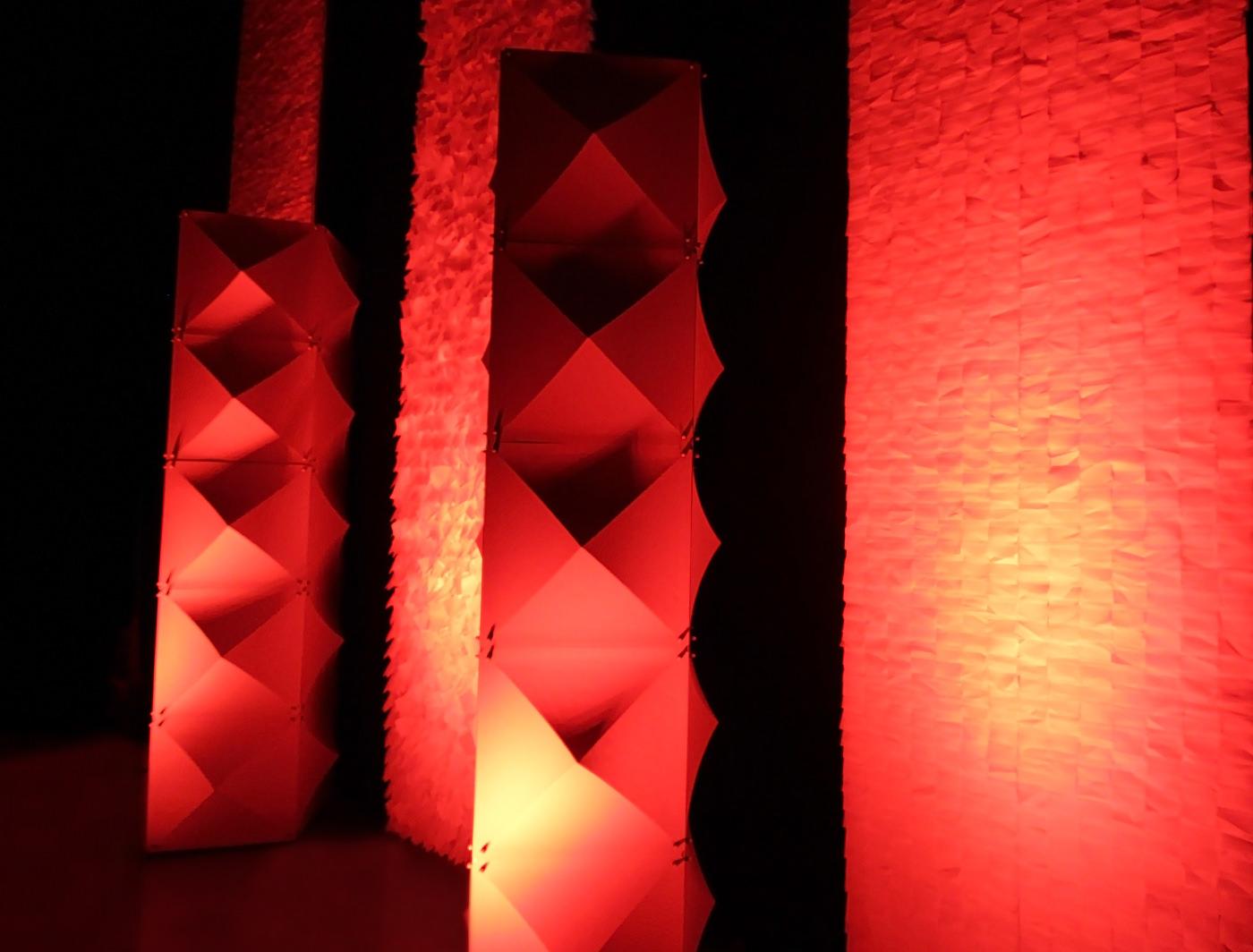 MiniGoss Panels light well to make an impact