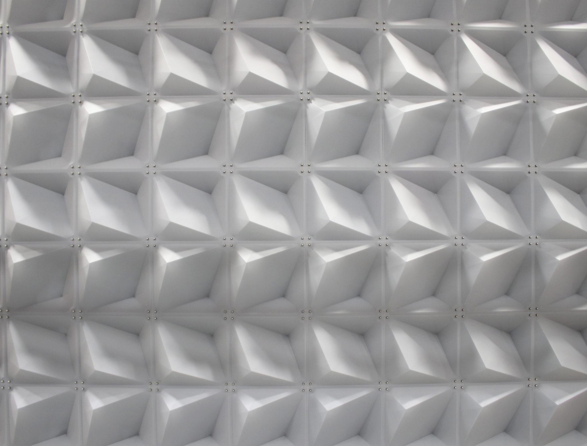 Frosted Zeddit panels in natural light