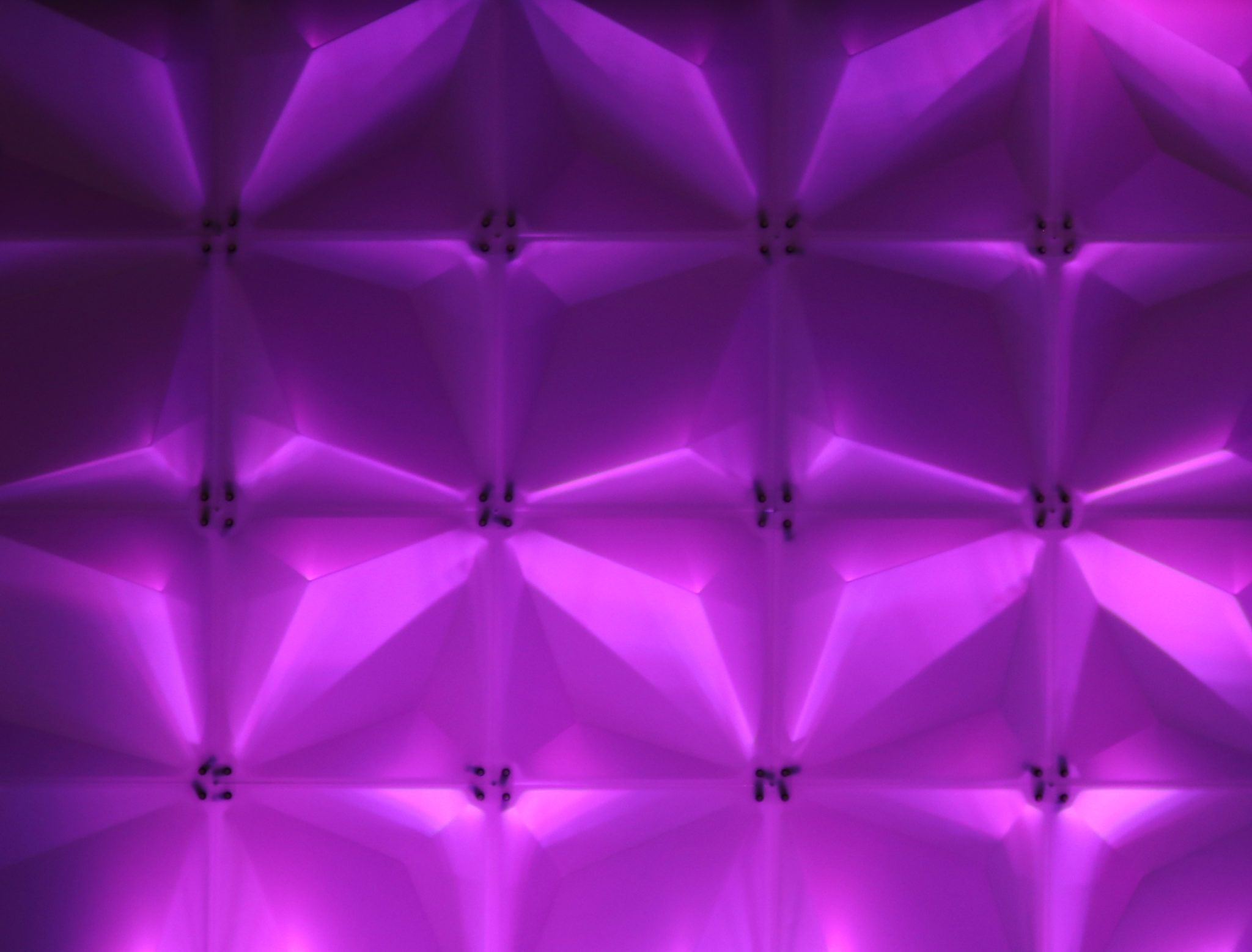 Frosted Zeddit panels with show light