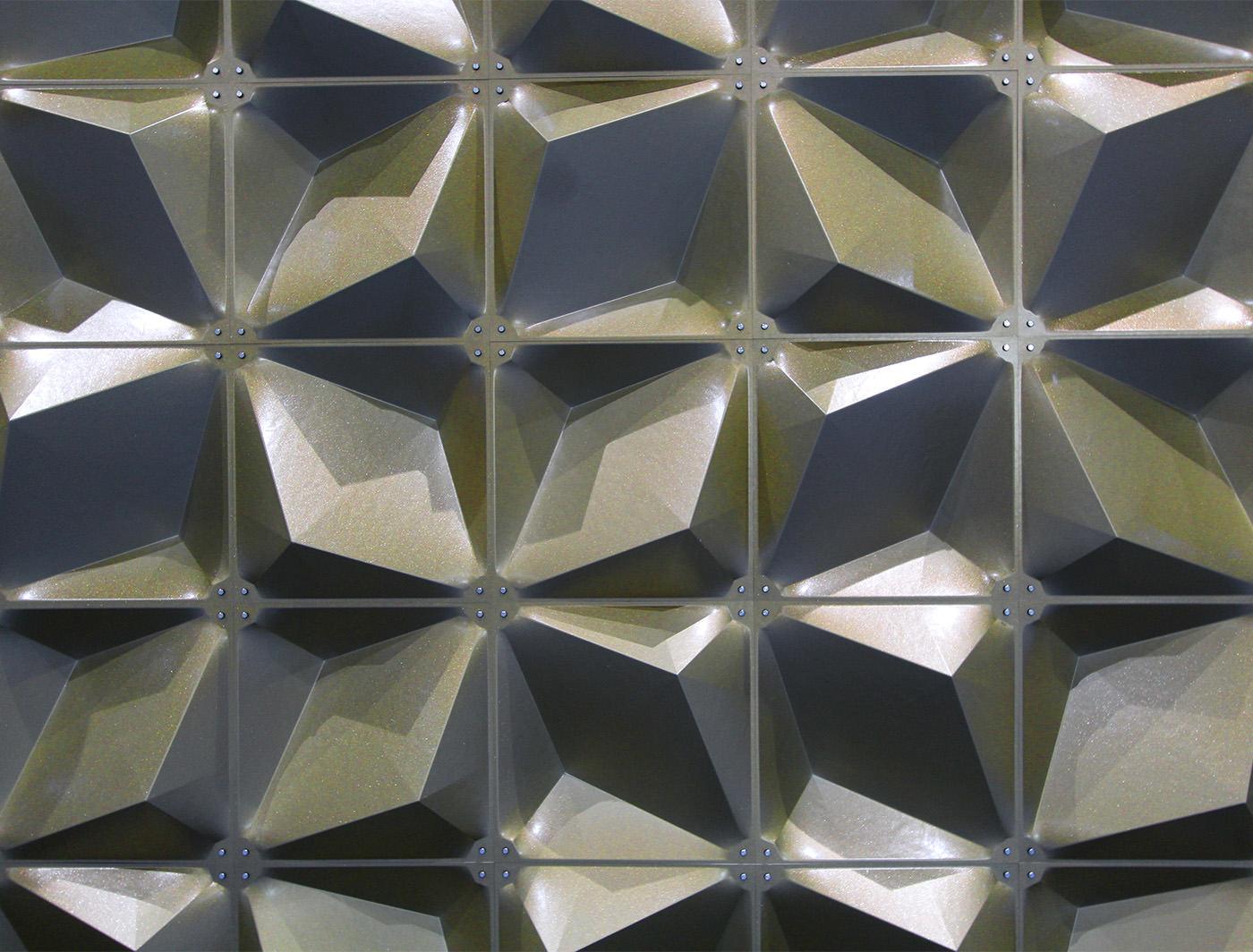 Zeddit Premium gold panels in Natural Light