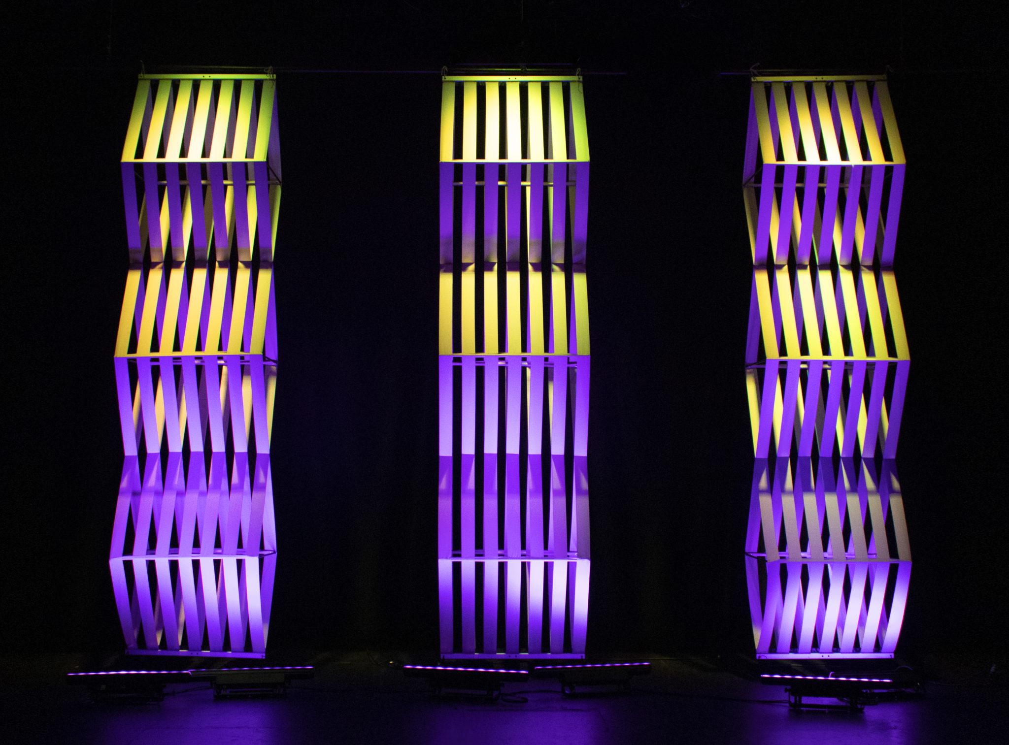 Zen panels light well on stage